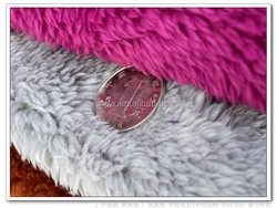 Jishengxiang textile 100% polyester plush fabric with high qualty, super soft sherpa fleece fabric, shu velveteen fabric
