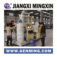 mini compact copper wire granulator and wire recycling machine with high separation