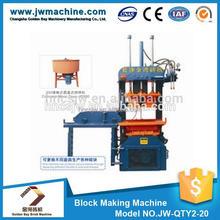 Fine workmanship CE&ISO9001 ceritificated 1725*1160*2320 mm 6.2KW 380V mesin press batako press dan paving block