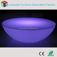 Home furniture bedroom use LED low coffee table