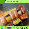 Alibaba supplier clear plastic container sushi tray