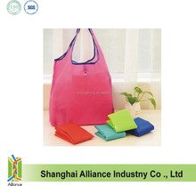 2015 Fashion Portable Eco Friendly Reusable Cute Folding Shopping Bag,Polyester Folding Tote Bag FH002