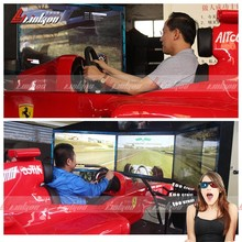 2015 the most fantastic video game driving simulator/driving games simulator with 6 DOF dynamic platform