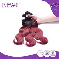 Quality Assured Portable And Endurable Henna Virgin Hair Extensions Free Sample Dye Colors