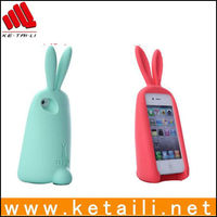 Silicone Bunny Rabbit Phone Case For iPhone 5 Generation
