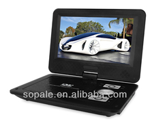 Hottest selling 9 Inch dvd portable home dvd player with solar radio DS958