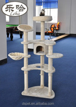 Deluxe Cat Tree Cat Condo cat jungle cat cube kitty play centre cat scratch lounge
