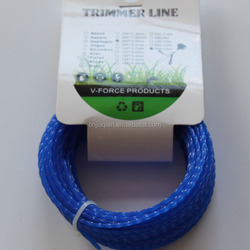 4mmx10LB Grass Trimmer Line With Packing Blister Donut For Brush Cutters