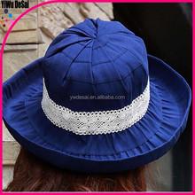 Outdoor visor folding big hat straw hat wholesale farmers straw hats
