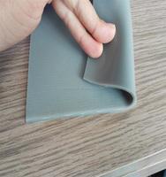 Fiber Or Fabric Silicone rubber sheet for Solar Laminator