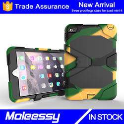 Cheap custom logo business case for ipad mini 123/mini4 heavy duty tablet case