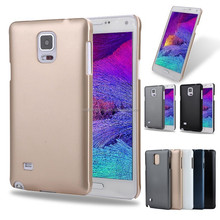 High quality good sell phone cover super thin phone case hard cover for samsung galaxy note 4