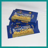 New Year Gift Side Gusset Plastic Pouch for Cookies in Dongguan