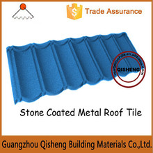 Metal stone coated roofing sheets prices/Used sand coated metal roofing