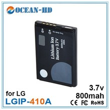 LGIP-410A External Replacement Nimh Battery Pack AA 800mAh 3.7V for LG KE770 KU250