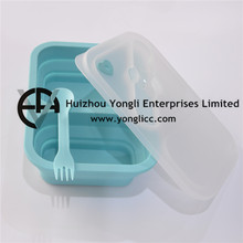 2015 Easy Storage Container Eco Friendly foldable lunch box container