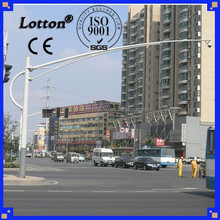 Street light pole lampadaire de la circulation