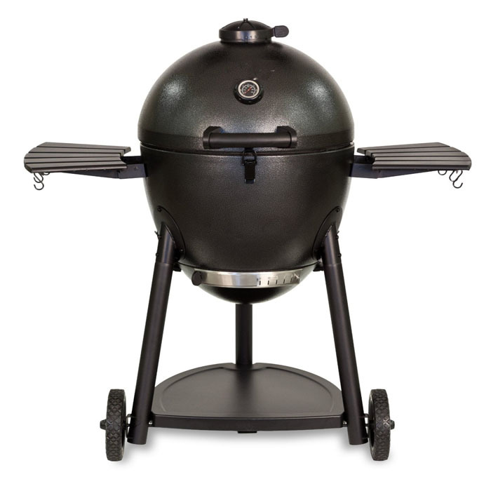Kamado Charcoal Smoker & Grilling Grill with Cart for Backyard Outdoor