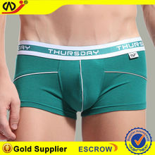 95%cotton 5%spandex printing men's boxer, comfortable and Breathable, OEM Orders are Welcome