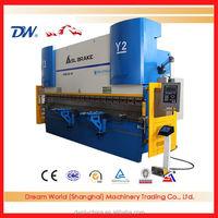 WE67K-200T4000 3+1 axis CNC Electro-hydraulic Press Brake with DELEM DA52S CNC controller