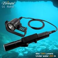 Underwater torch light diving flashlight led