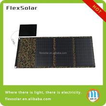 30W Folding Universal Solar Charger For Laptop