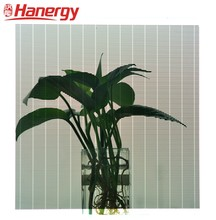 Hanergy BIPV solar agricultural greenhouse solar energy products carved translucent solar panel