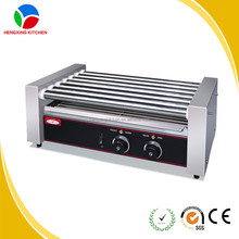 Commercial Stainless Steel Hot Dog Roller Grill/Hot Dog Roller/Hot Dog Grill And Warmer
