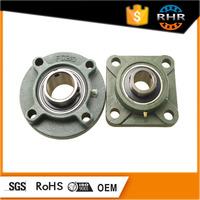 Chrome steel bearing 4 bolt cast iron flange pillow block bearing ucf 210 f210