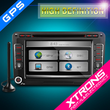 """Xtrons Premium Serials-PX71MTVDAB- 7"""" HD Touch Screen DVD Player with DAB+ Turner GPS Navigation for Volkswagen / Skoda / Seat"""