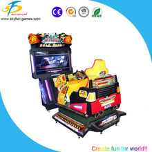 Market cool simulator car racing games 55 inch 4D hot pursuit