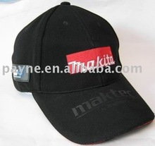 2013 cotton embroidery promotional cap
