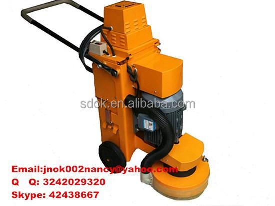 concrete burnishing machine