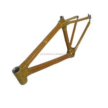 New design Environmental Bamboo bike frame for mountain bicycle Bamboo MTB frame