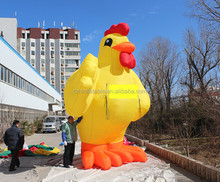Good quality inflatable costume shapes inflatable chicken /Advertising giant inflatable chicken