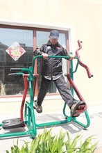 2015 Older Body Fit Equipment Outdoor Fitness Gym Machine For Sale