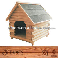 Wooden Timber Dog Cage DFD006