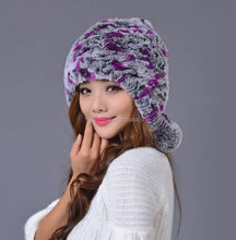 2015 China supplier whosale fox fur hat and cap for ladies