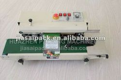 auto vertical sealer FRD-900 tea bag and some Snacks with small packages use our continuous sealer