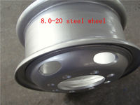 auto steel wheel rims 8.5-20
