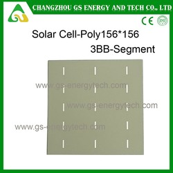 Super quality 6x6 polycrystalline solar with lower price in china dry cell solar battery
