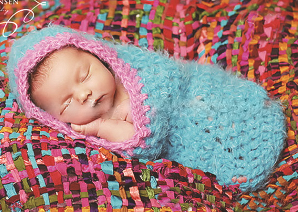 Newborn Crochet Sleeping Bagbaby Cocoon Sleepsacks 0 6 Monthes