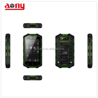 Waterproof rugged smart phone 4inch dual core android mobile phone