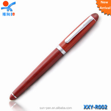 Modern design high quality eco-friendly promotional wooden fountain pen