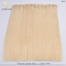 2015 Aliexpress Virgin Unprocessed double weft High Top Quality velvet remi hair wholesale