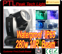 280 waterproof cabezas moviles 10r moving head beam light