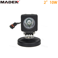 Portable 10W led working light waterproof led work light 2inch Auto LED Worklight MD-2101