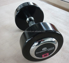 Hot! High Grade PU Dumbbells with Steel Cap for Commercial Use