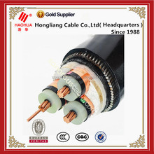 Copper conductor PVC insulated 6kV power cable