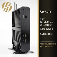 Hot sell Intel core i7 cpu integrated graphic card mini desktop computer